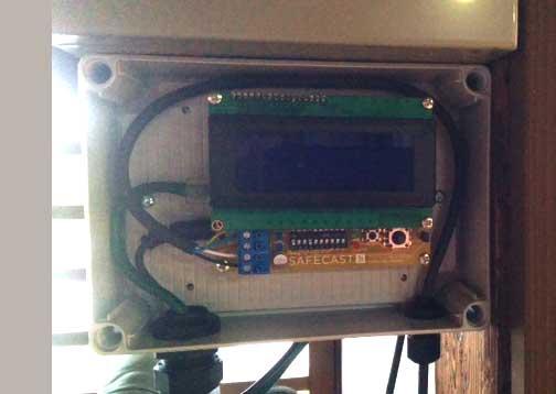 Installation of the sensor